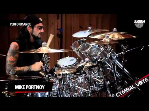 CYMBAL VOTE - Mike Portnoy Performs