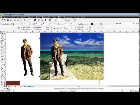 TUTORIAL corelDRAW X6 FOTOMONTAJE