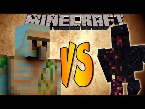 MEGA GOLEM VS OBSIDIAN - Minecraft Batallas de Mobs - Mods