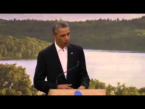 Video: G8 Summit negotiations for historic EU US trade deal announced TTIP