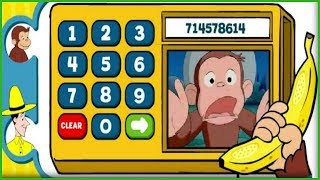 CURIOUS GEORGE Dials Telephone And Knows His Numbers In Banana 411