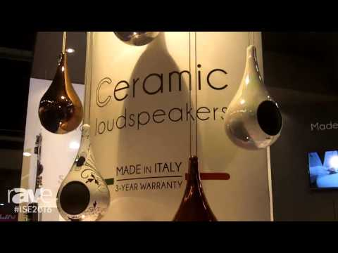 ISE 2016: Garvan Acoustic Introduces Hanging Ceramic Loudspeaker