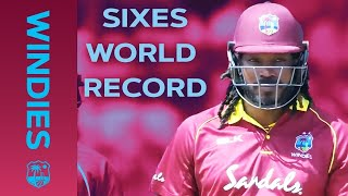 WORLD RECORD Number Of Sixes In An Innings | LIVE STREAM