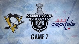 Pens blank Caps in Game 7, advance to ECF