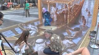 فنانون عالميون بمهرجان