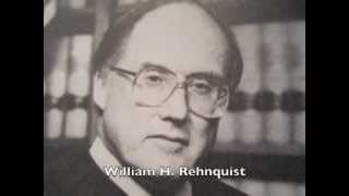differences between william rehnquist and earl warren The impact of new justices: the us supreme court and criminal justice policy by christopher e smith i introduction the supreme court is.