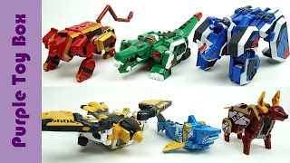 Beast Guardian Animal Transformers And Combination Robot 지오메카 비스트 가디언 장난감