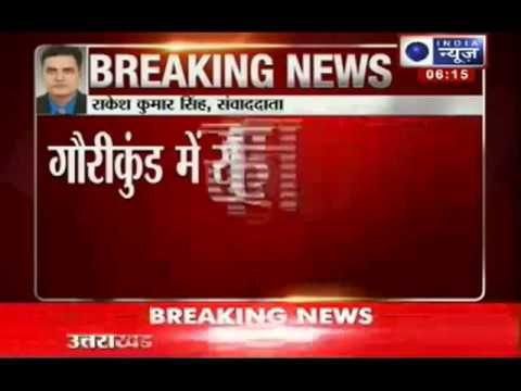 Breaking News Uttarakhand Floods Relief chopper crashes YouTube