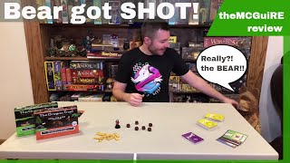 THE OREGON TRAIL HUNT FOR FOOD Card Game Review