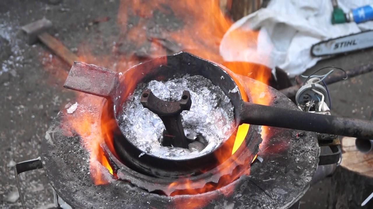 Расплавленный металл своими руками 954