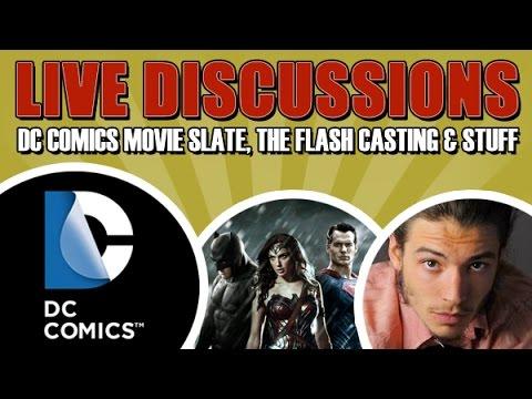 DC Comics Movie Slate, The Flash Casting & Stuff
