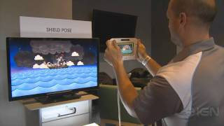 Shield Pose Wii U - E3 2011_ Hands On Demo