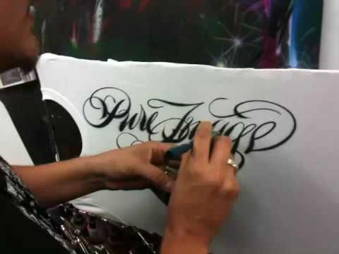 Jaime rodriguez airbrush script