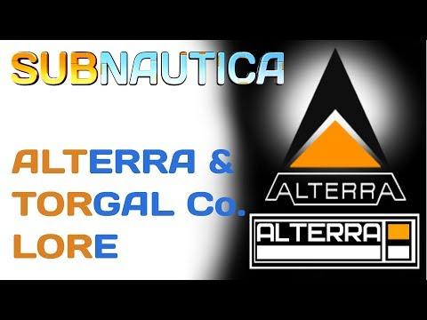 Subnautica Lore: Alterra & Torgal Corporation | Video Game Lore