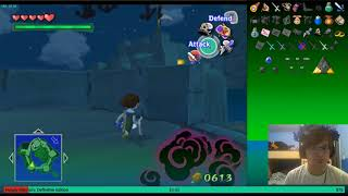 Forsaken Fortress Leafless Bed Jump - The Legend of Zelda: The Wind Waker: Randomizer