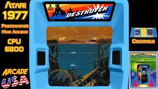 Atari Destroyer 1977!