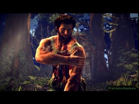 The Wolverine - Uncaged Story: Part 1 - Jungle - X-Men: Origins Videogame - HD