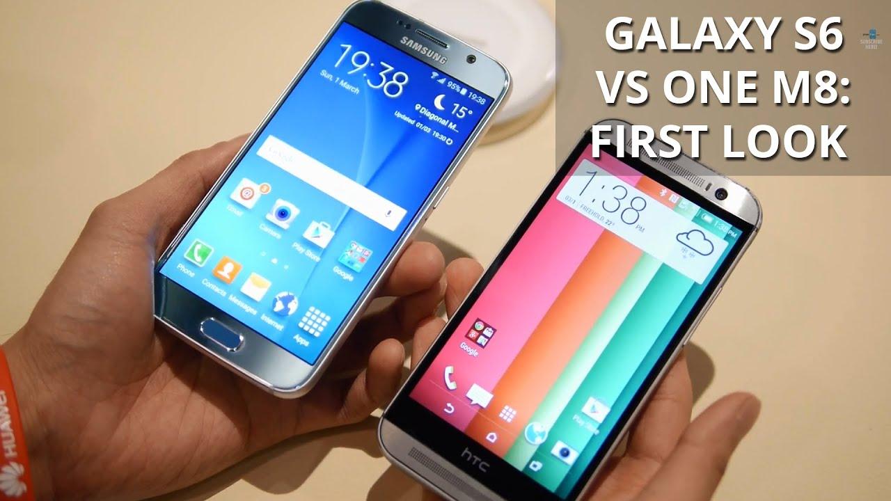 Samsung Galaxy s6 Versus Htc