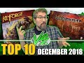 Top 10 Hottest Board Games: December 2018