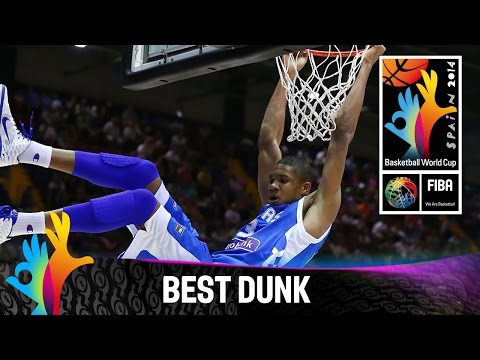 Puerto Rico v Greece - Best Dunk - 2014 FIBA Basketball World Cup