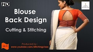 Download Blouse Back Design Cutting and Stitching 3Gp Mp4