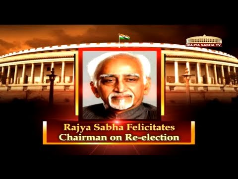 Hamid Ansari's second term as Vice President of India # Segment - 1