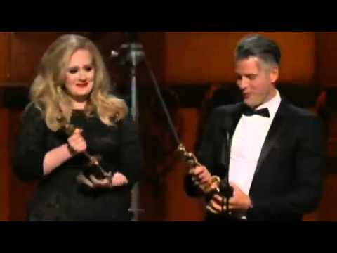Adele Oscar Acceptance Speech Singer Gets Emotional