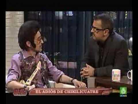 La muerte de Rodolfo Chikilicuatre en Buenafuente 05/06/2008