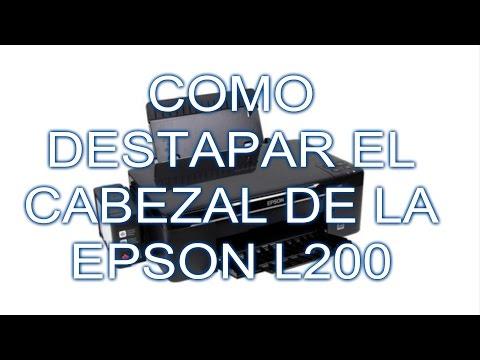 LIMPIEZA DE CABEZAL EPSON L200 DESARMAR/EMSAMBLE PARTE 1