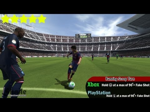 FIFA 14 All Unlisted Skill Moves Tutorial   Xbox & Playstation   HD