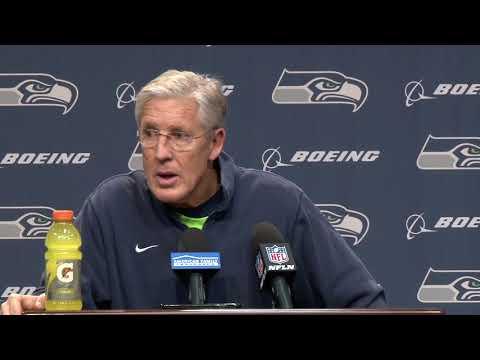 Seahawks Head Coach Pete Carroll Week 14 Wednesday Press Conference