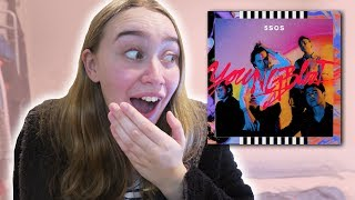 5 SECONDS OF SUMMER YOUNGBLOOD FULL ALBUM REACTION