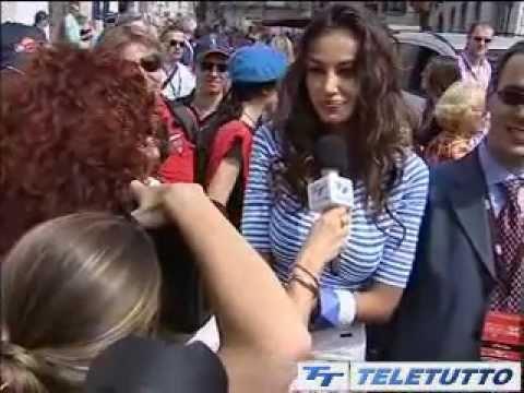 Mille Miglia 2011, le interviste di Teletutto: Madalina Ghenea – tg Teletutto