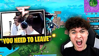 CRAZY FAN Breaks Into FaZe House on LIVESTREAM!