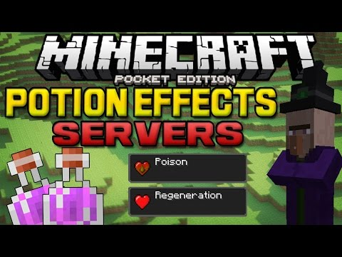 AMAZING Potion Effects!! - Speed, Jump & MORE! - Minecraft PE (Pocket Edition)