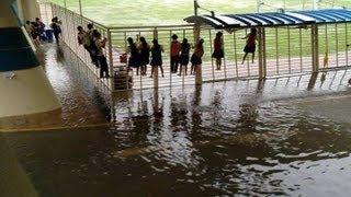 Singapore Heavy Rain on Thursday Morning