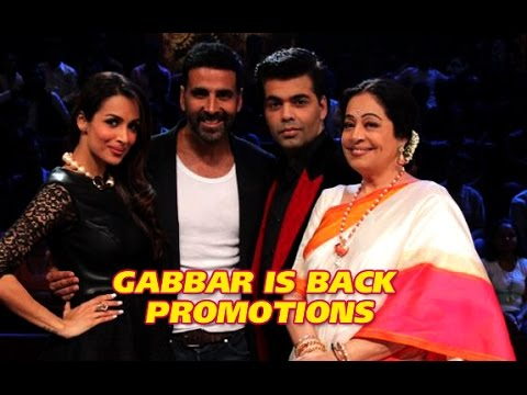 Akshay Kumar promotes Gabbar Is Back on India's Got Talent