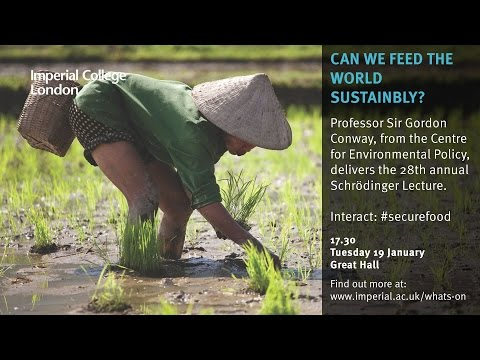 Can we feed the world sustainably?