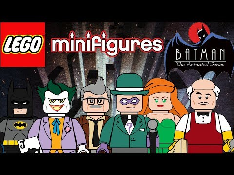 Lego Batman the Animated series moc minifigure series!!!