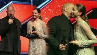 Vin Diesel Kiss To Deepika Padukone | xXx Return of Xander Cage