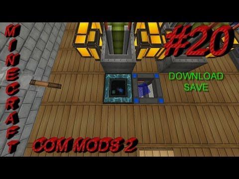 Tesseract Parte 01 Minecraft Com Mods 2 20
