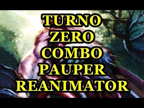 Pauper RB REANIMATOR COMBO TURNO 0