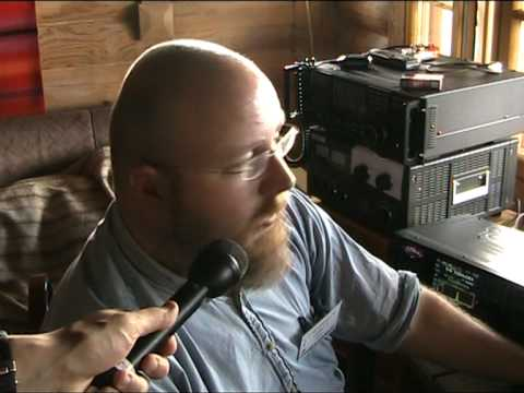 Radio Hami - RTTY Contest interview @ HamiWaara 2009