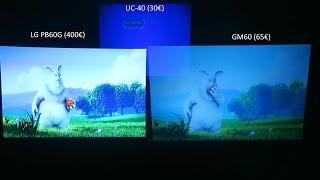 Download Projetores LG PB60G vs GM60 vs UC-40 3Gp Mp4