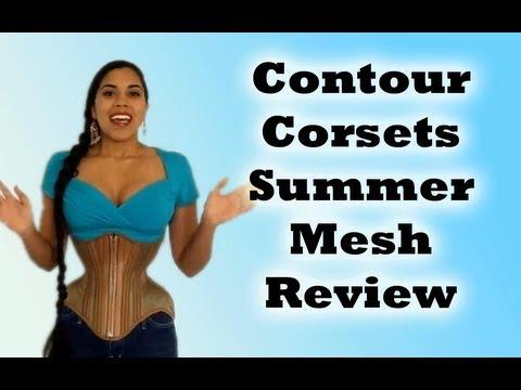 Contour Corsets Summer Mesh Underbust Review