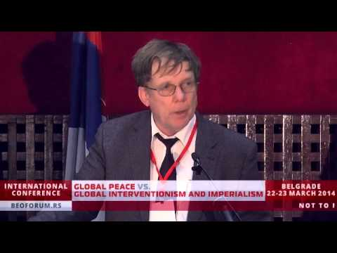 PROF. ANDREAS GRIEWANK (GERMANY) - (Global Peace vs. Global Interventionism and Imperialism)