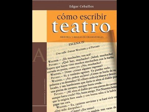 Book Trailer: Cómo escribir teatro, de Edgar Ceballos