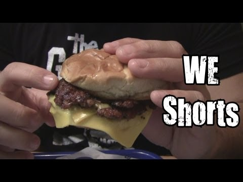 WE Shorts - Culver's Cheese Curds & Deluxe Cheeseburger