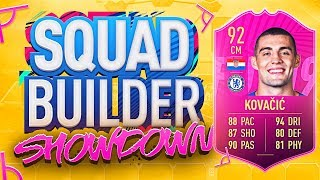 FIFA 19 SQUAD BUILDER SHOWDOWN!!! FUTTIES KOVACIC!!!