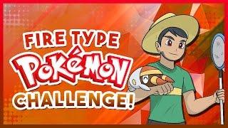 FIRE TYPE POKEMON CHALLENGE! Pokemon Quiz with aDrive!